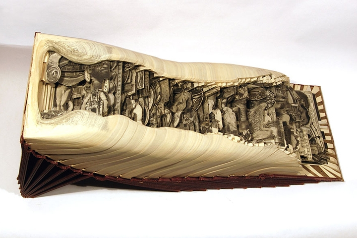 ブックアート彫刻-socialdesignmagazine23