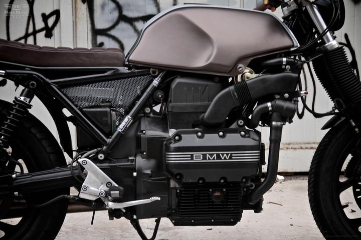 Custom BMW K 75 street tracker by Moto Sumisura social design magazine 08