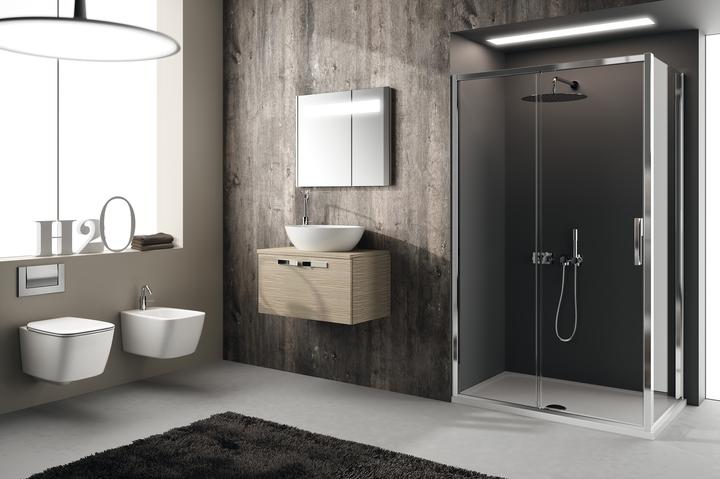 IS Waschbecken und Dusche Strada und Gesundheit 21 Sozial Design-Magazin