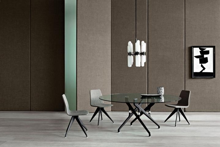 Potocco Torso tavolo sedie social design magazine
