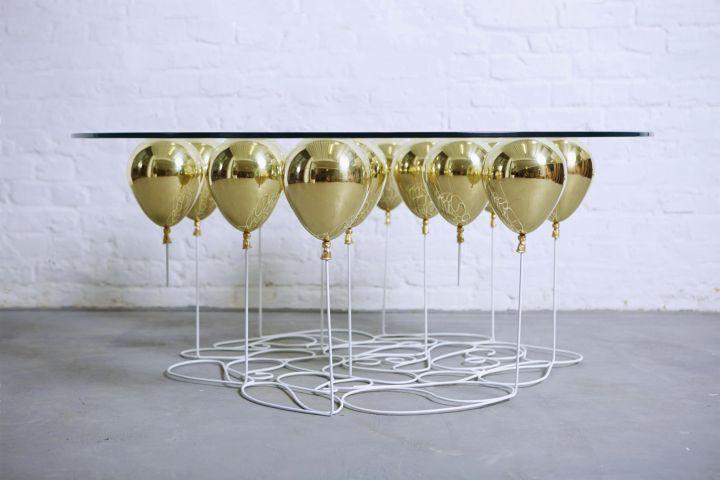 duffy london επάνω μπαλόνι τραπέζι καφέ γύρο έκδοση 09