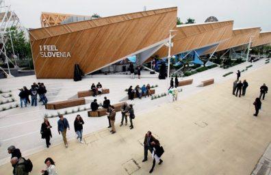 slovenia Milan achitèk Ekspozisyon Pavilion yo 2015 02