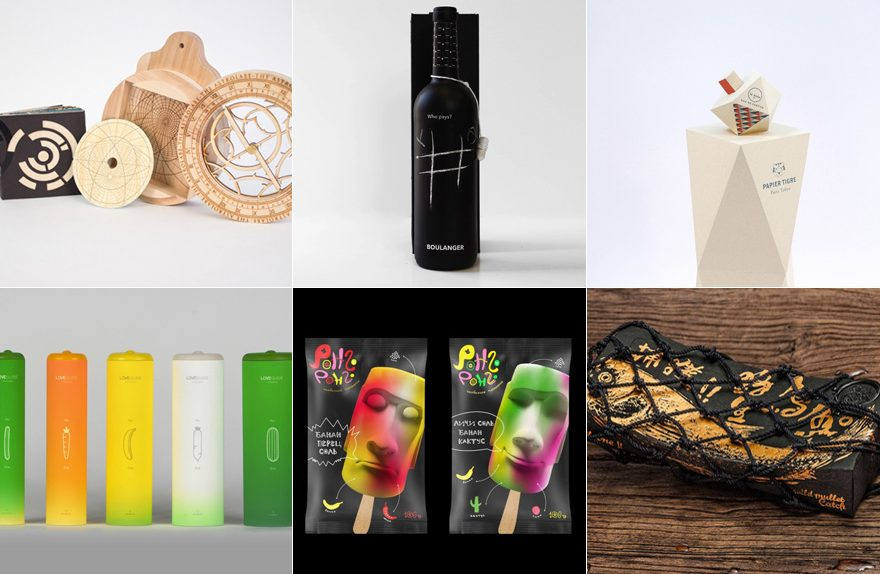 Packaging design by students