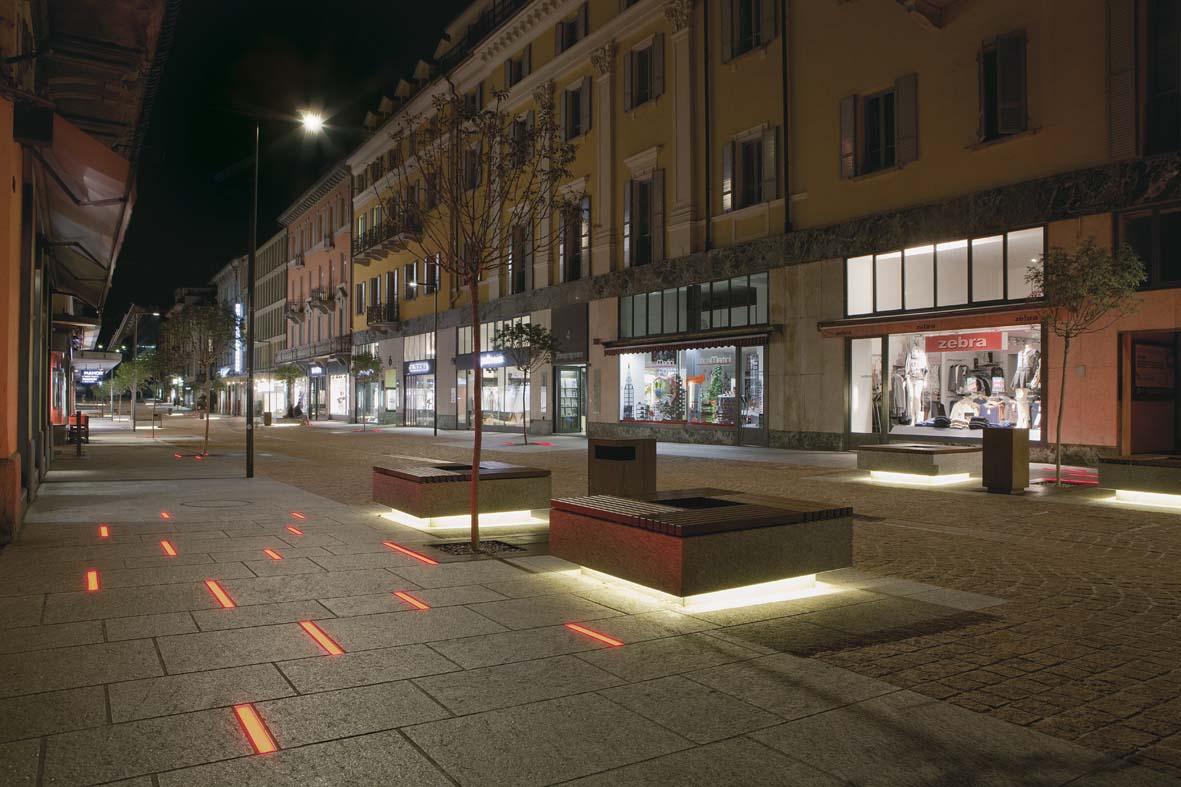 Φωτισμός LED σχεδιασμό φωτισμού Μπελιντσόνα Stefano Dall'Osso 02
