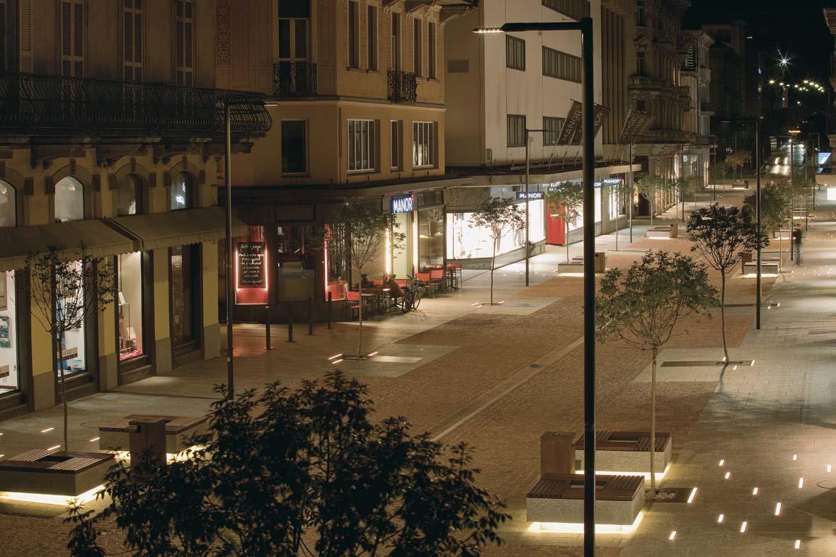 Φωτισμός LED σχεδιασμό φωτισμού Μπελιντσόνα Stefano Dall'Osso 04