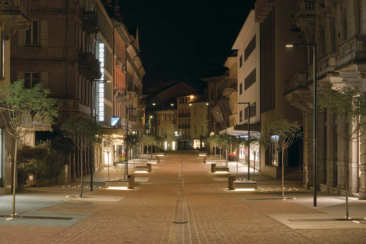Φωτισμός LED σχεδιασμό φωτισμού Μπελιντσόνα Stefano Dall'Osso 06