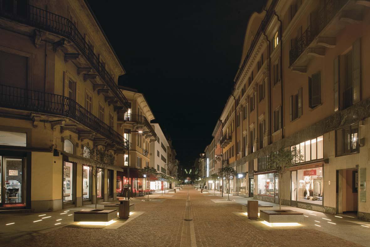 Φωτισμός LED σχεδιασμό φωτισμού Μπελιντσόνα Stefano Dall'Osso 08