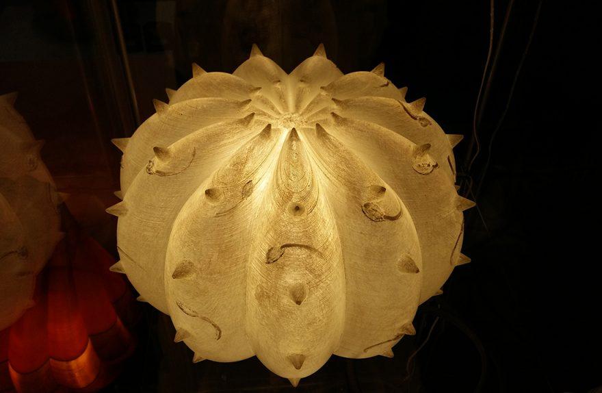 Desert Light, Lampe-Skulptur aus organischen Design