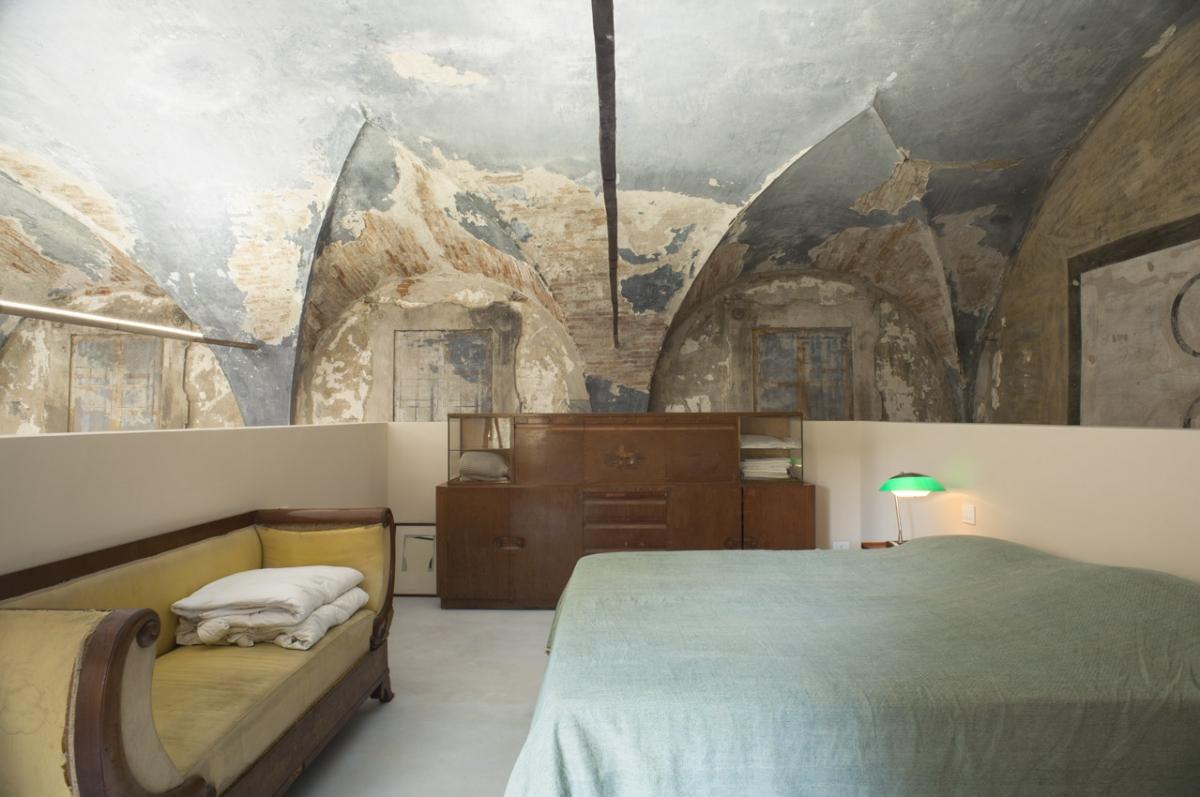 Rada Markovic, diseño de iluminación para ph habitación de Massimo Vitali casa 7 Azul TECHO Massimo Vitali. Marco Campanini