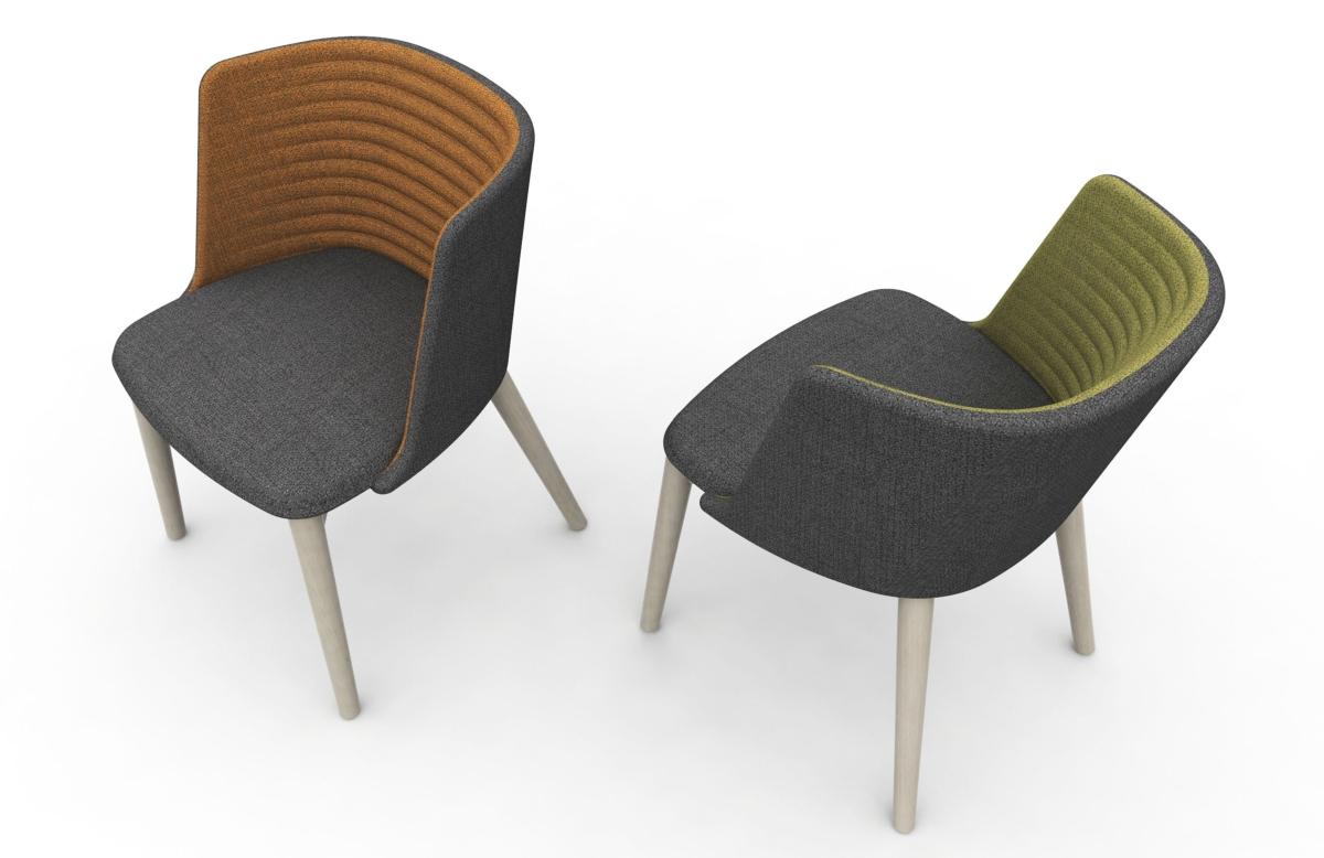 Domitalia upholstered armchair Class