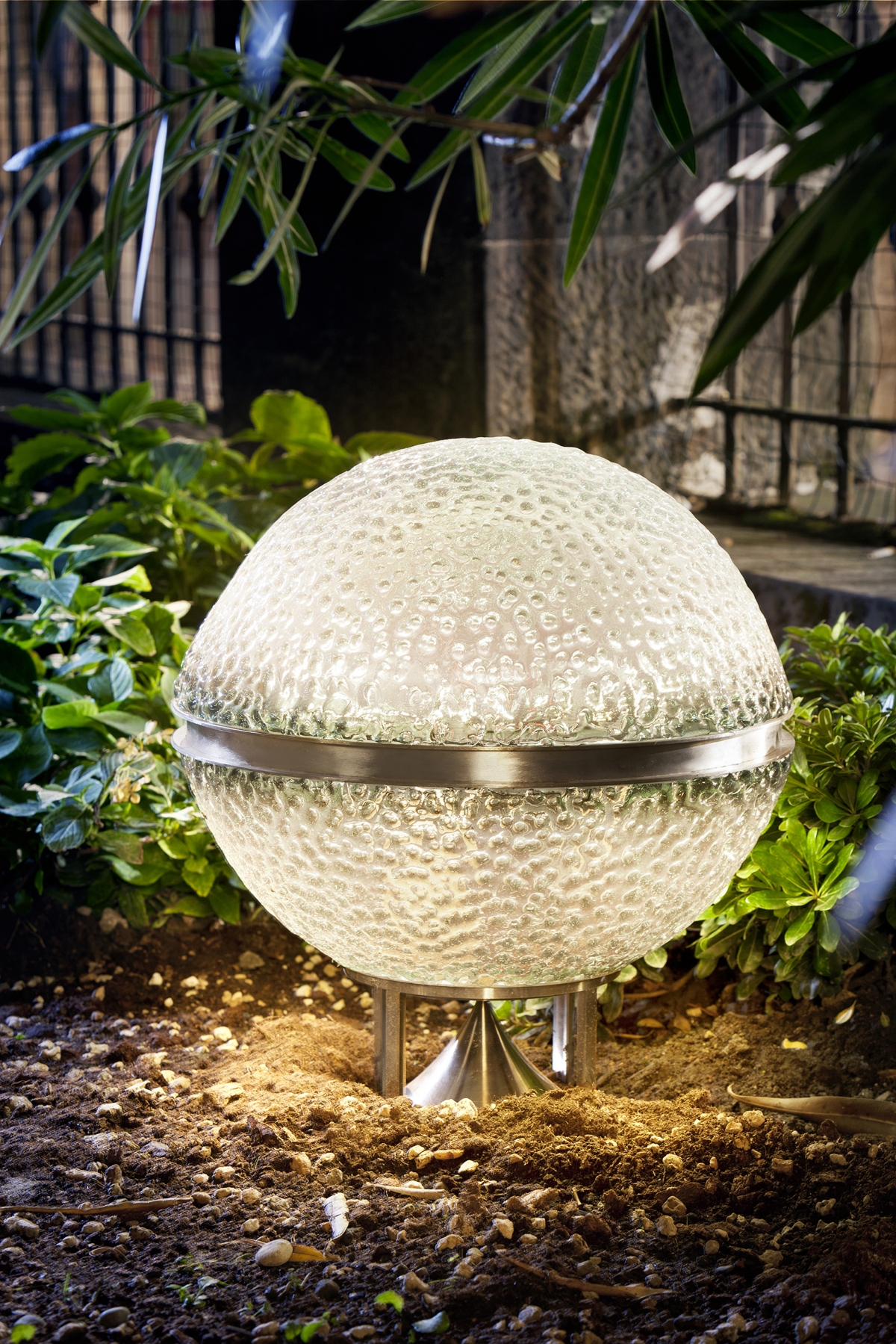 Catellani & Smith Medousê outdoor lamps with sound diffuser