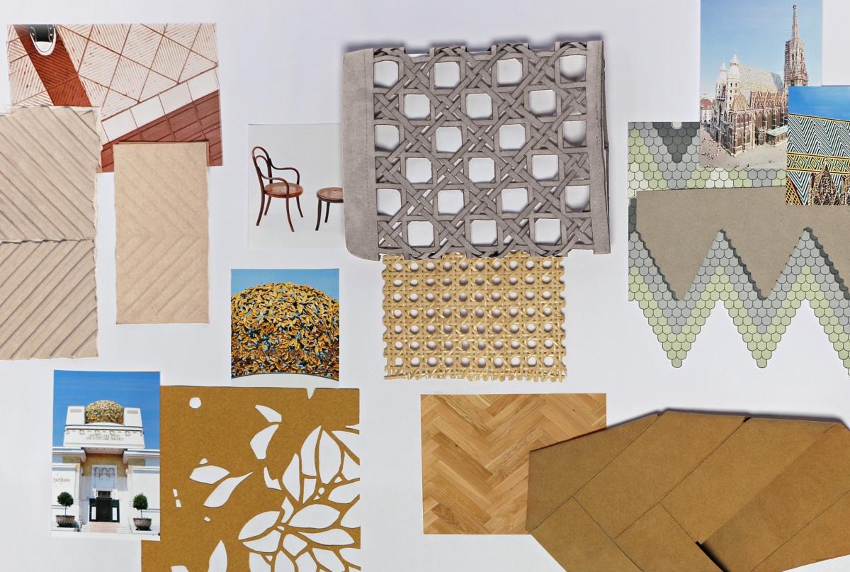 Local Icons. Progetto Alcantara-MAXXI Mischertraxler Patterns of Vienna 1