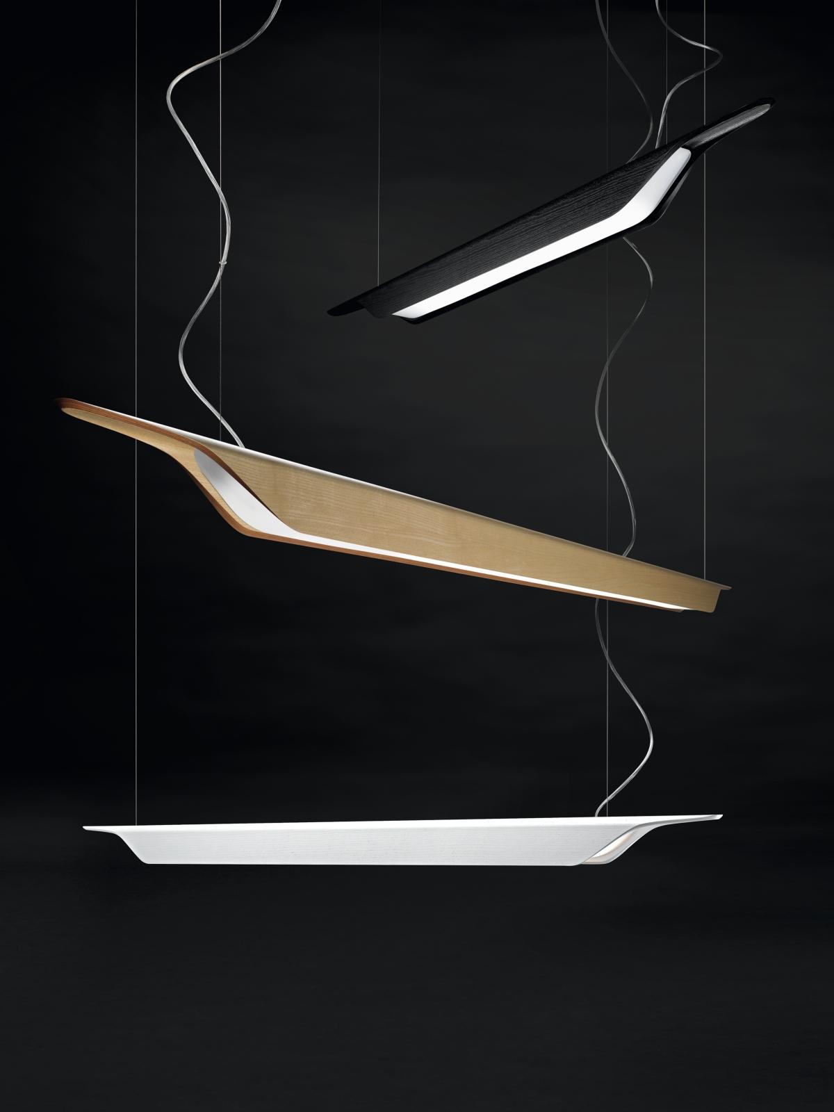 Troag, lámpara de techo, 3 colores fijas