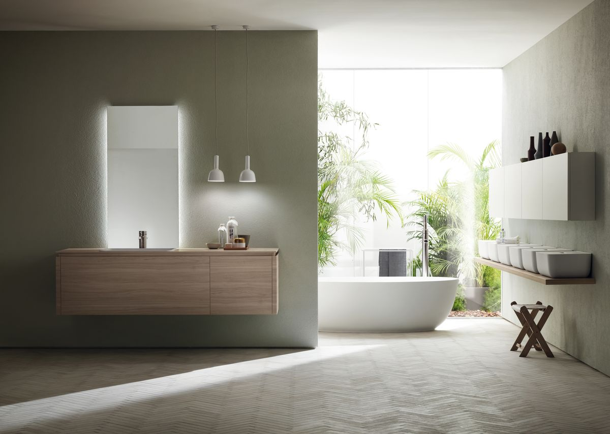 Scavolini Bathrooms collezione Ki, design Nendo