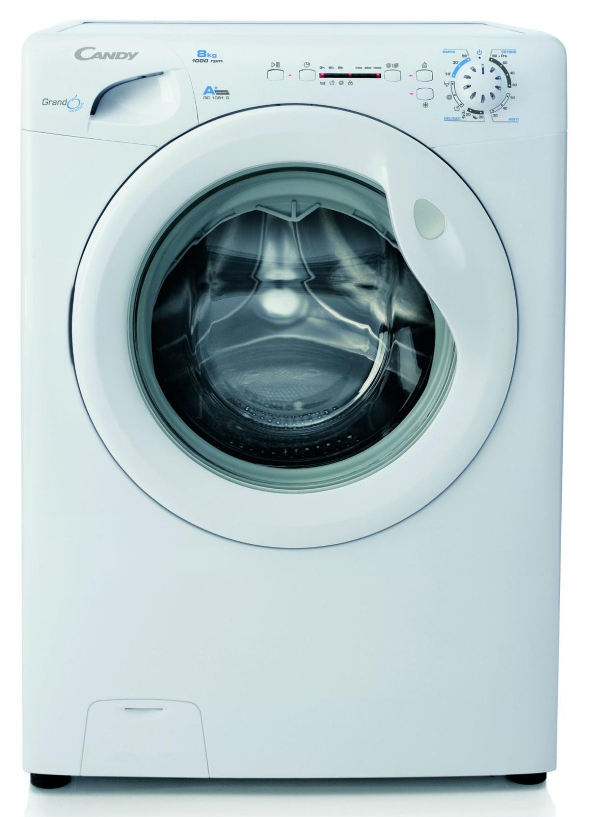 Welche Waschmaschine zu wählen, Süßigkeiten GC 1081d-01