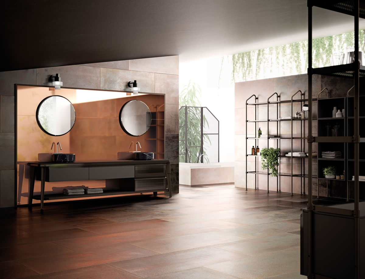 Diesel with Scavolini, Open Workshop ambiente bagno