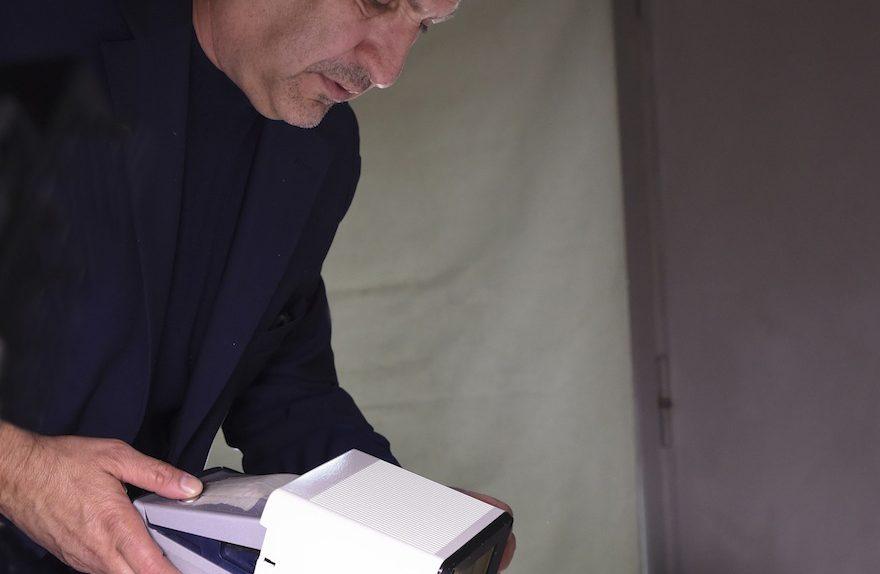 Maurizio Galimberti παρασκήνια