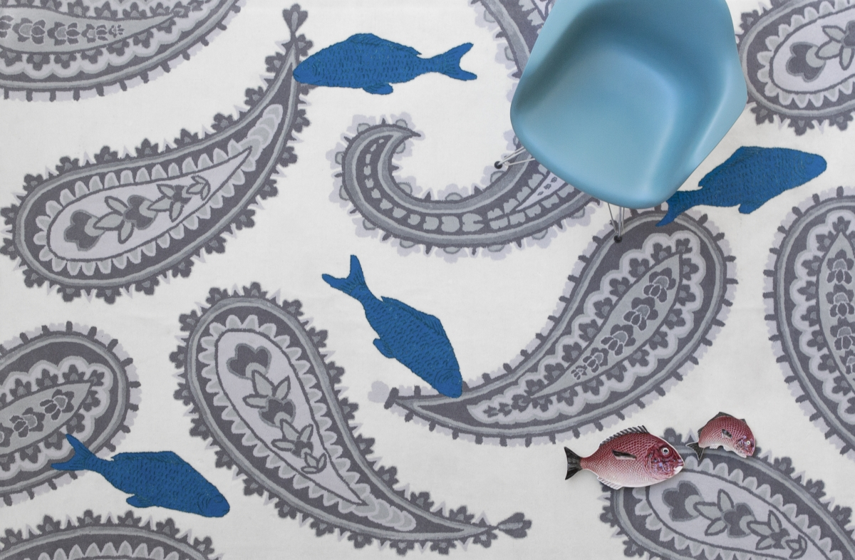 alfombra de cachemir Diseño Vito Nesta