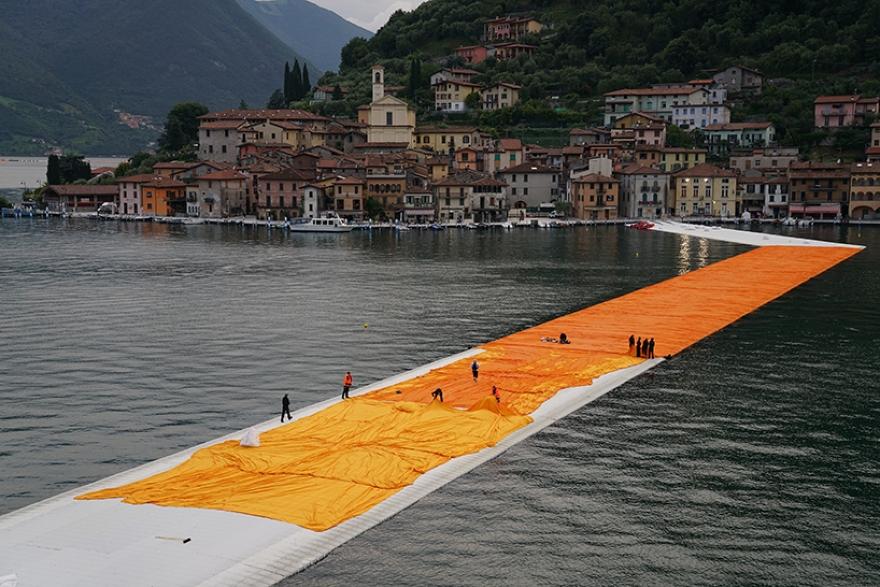 Christo, Piers flottantes