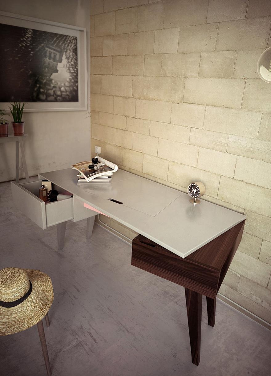 ντύσιμο τραπέζι μπουντουάρ