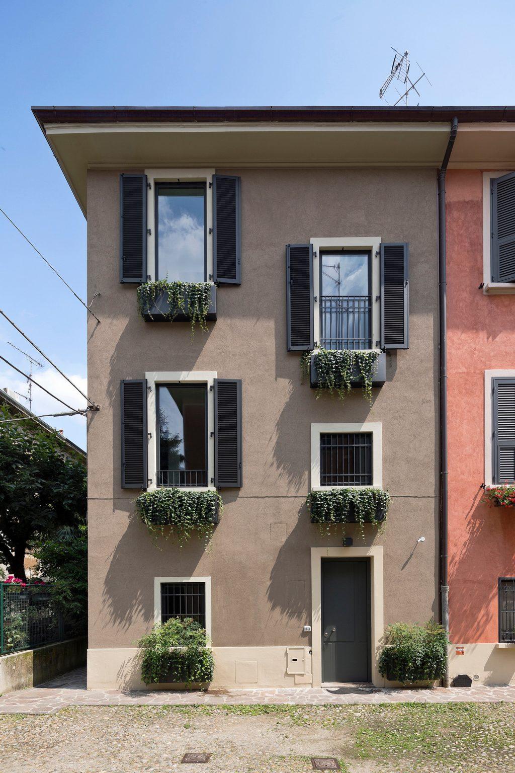 vertikale Loft Westway Achitects, extern