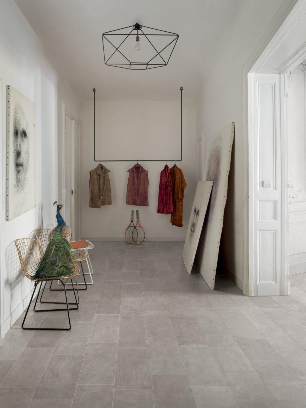 Ceramics concrete effect claymood 30x60 pearls cm