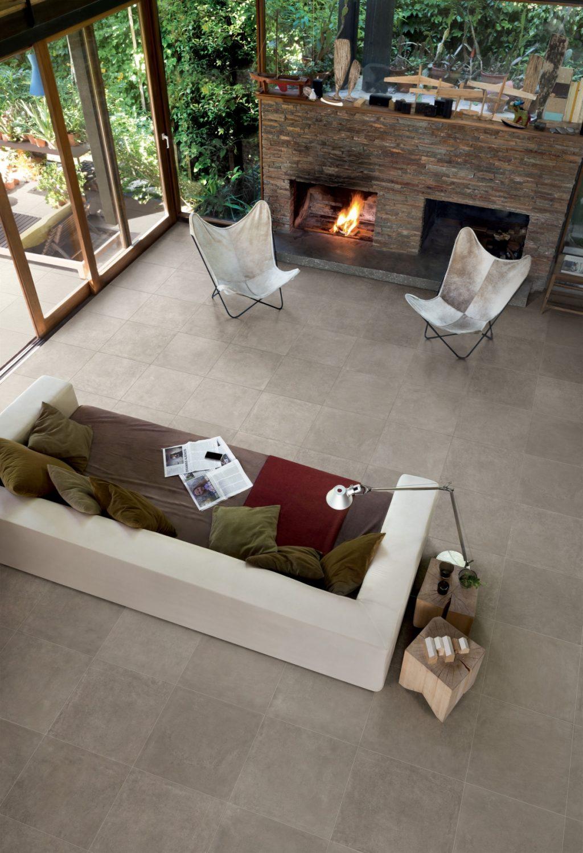 Ceramics concrete effect claymood taupe 60 x 60cm