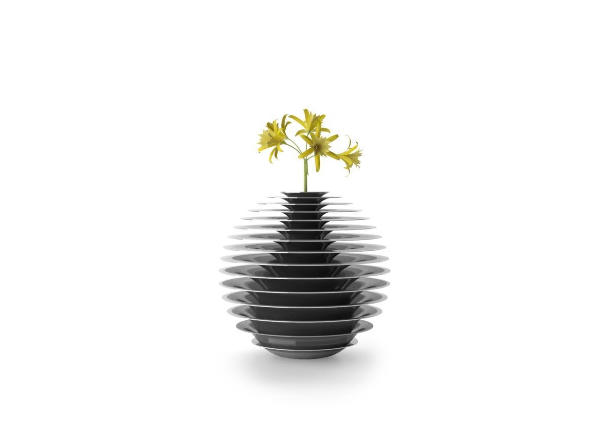 花瓶のFLOWER-METALコレクション、横浜メーカー村