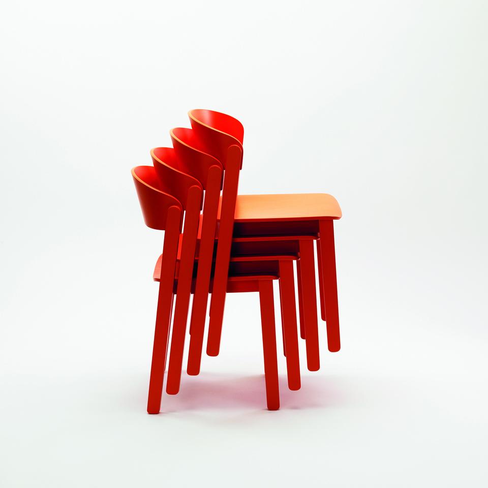 Sedia Pur, Zilio A&C, design Note Design Studio