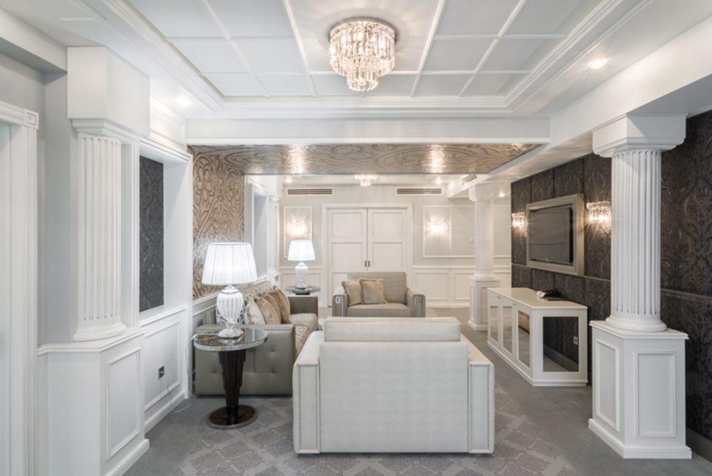 The living area of the Executive Suite - Decoration by Francesco Molon