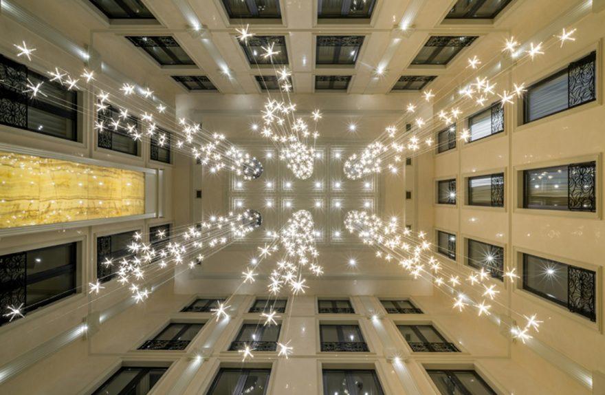 A waterfall of Reflex lights