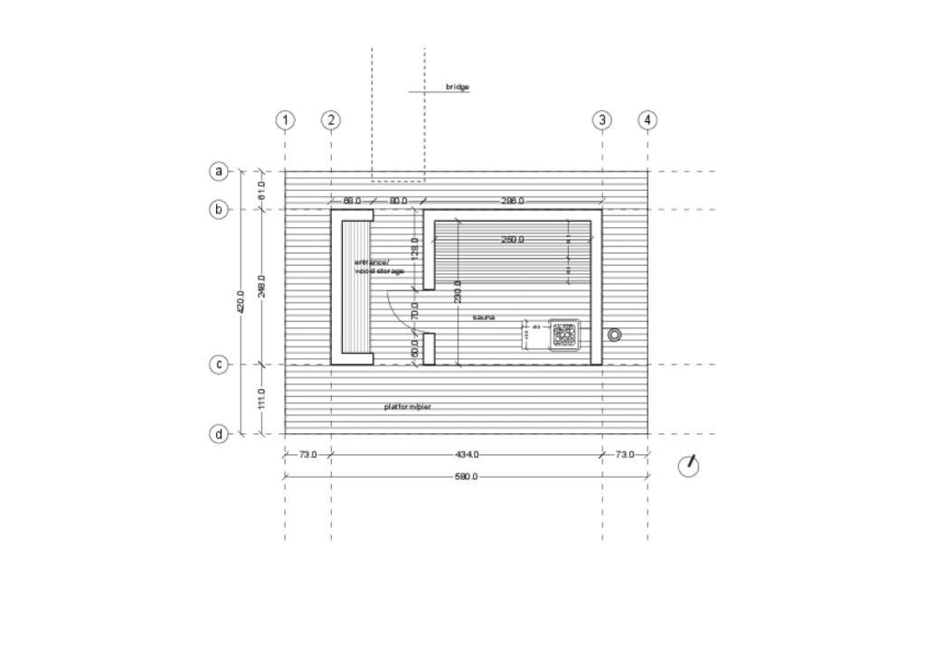 Plan de sauna