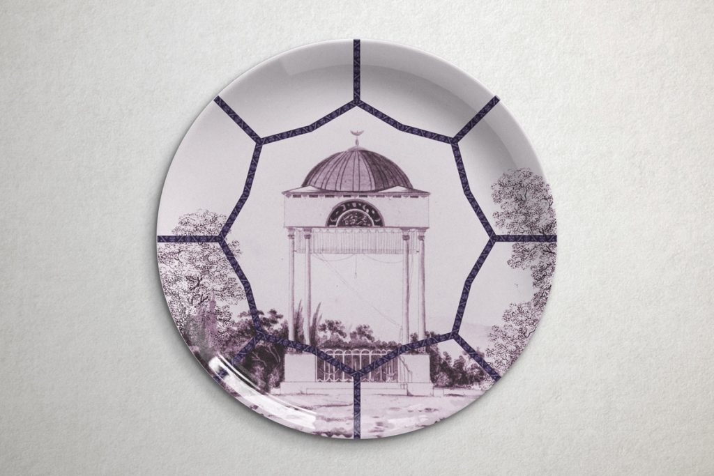 collection of topkapi dishes