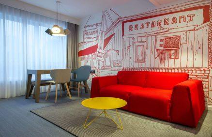 Milan Bedding Radisson Red Brussels Suite