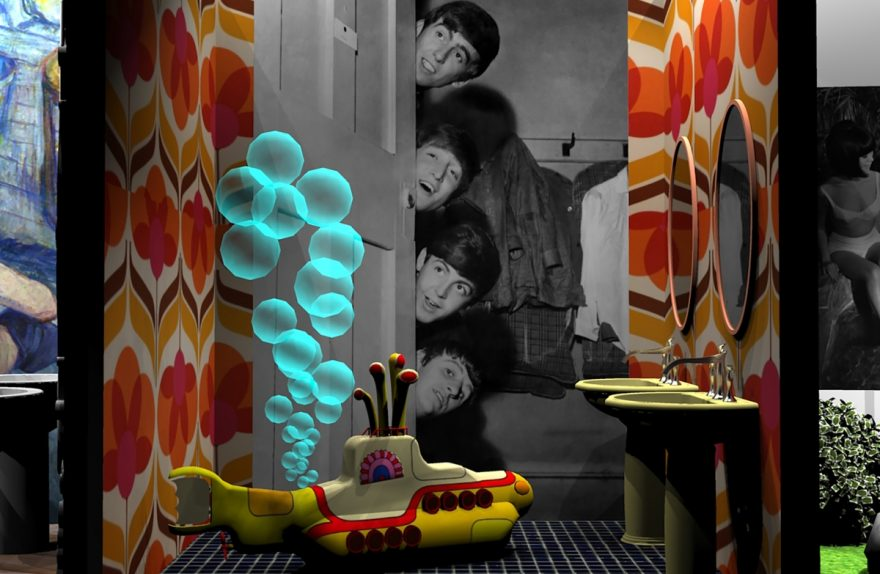FAMOUS BATHROOMS Cersaie 2019, Beatles
