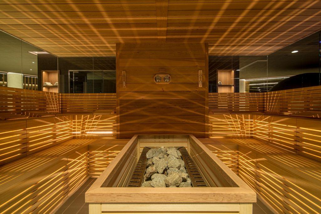 Neró Spa Studio Apostoli, La sauna