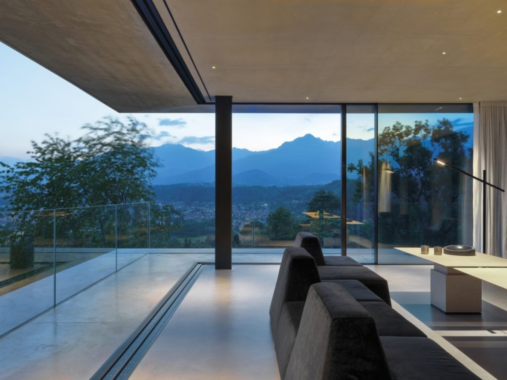 Teca House a transparent container immersed in nature Federico Delrosso Architects