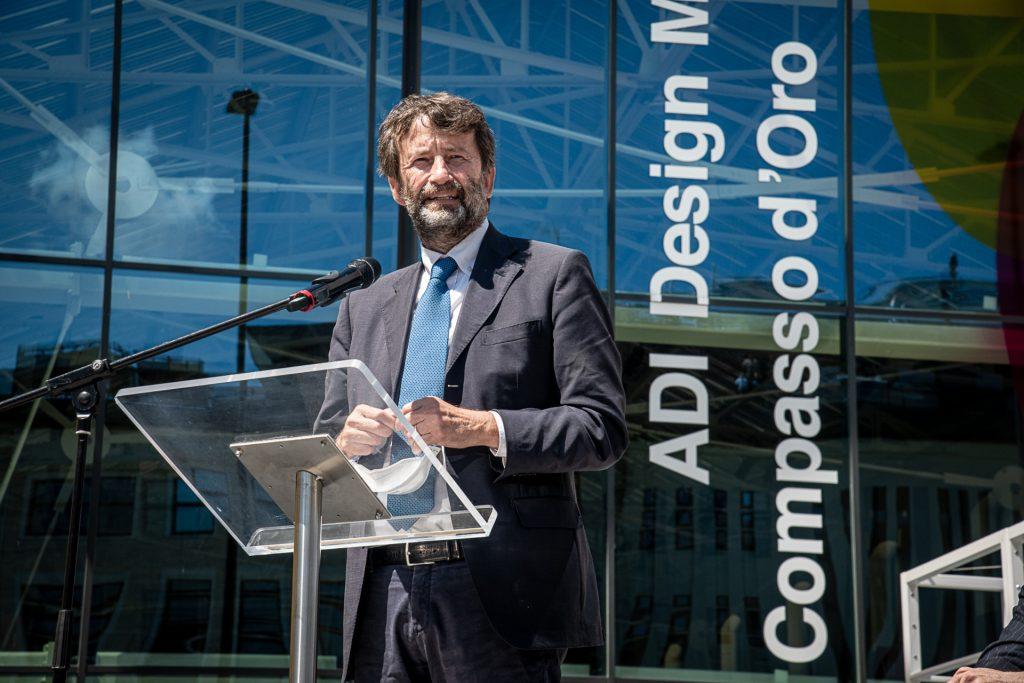 P.za Compasso d'Oro 1 Press conference for the presentation and inauguration of ADI Design Museum - Compasso d'Oro, with Minister Franceschini and Mayor Sala