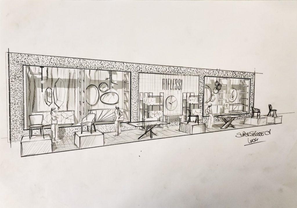 Supersalone reflexes sketch